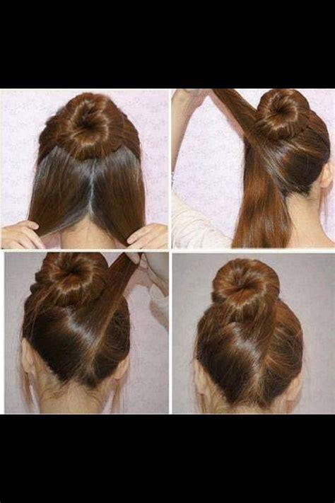 nice hairstyles buns criss cross hair bun this can also used as a wedding hair