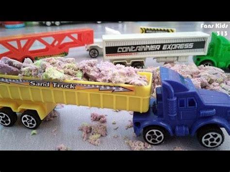 Mainan Anak Truk Keruk Mb152 toystruck dan playsand i mainan anak pasir