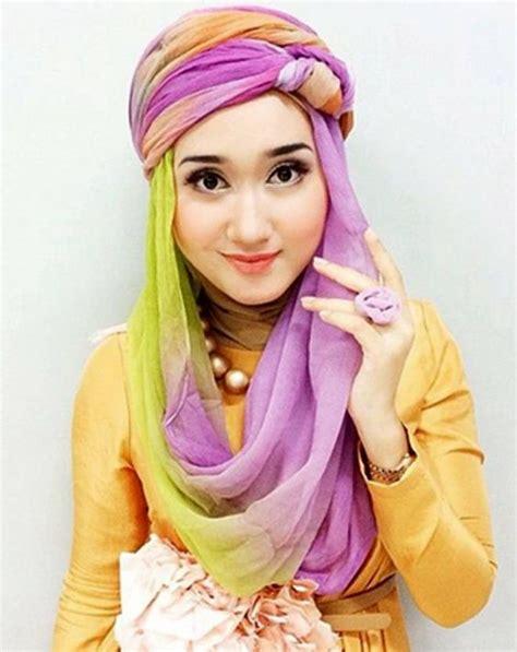 tutorial hijab pramugari ala dian pelangi tutorial hijab paris segi empat terbaru ala dian pelangi