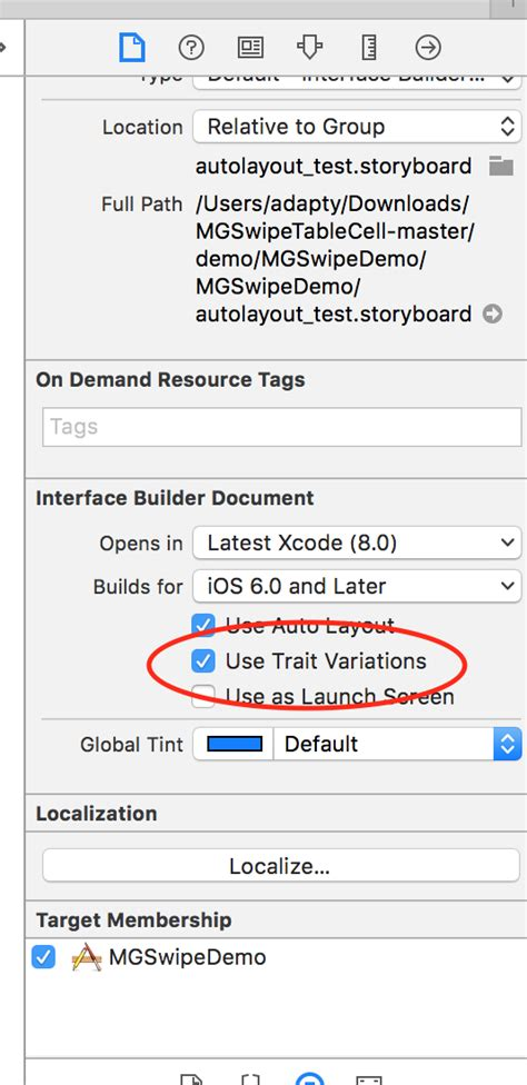 ios 8 xcode layout ios adaptive layout in xcode 8 stack overflow