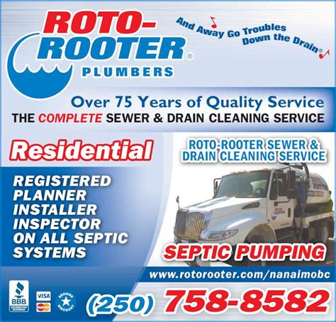 Roto Rooter Plumbing Drain Service by Roto Rooter Plumbing Drain Cleaning Service Canpages