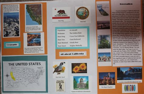 state brochure template 5th grade state brochure