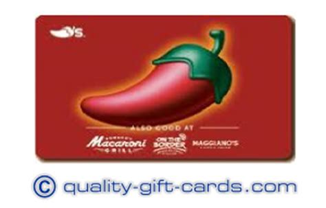 Maggianos Gift Card - 100 chilis macaroni grill on the border maggianos gift card 90 quality gift cards