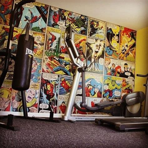 marvel superhero bedroom ideas kid stuff pinterest superhero home gym wall mural marvel comics avengers