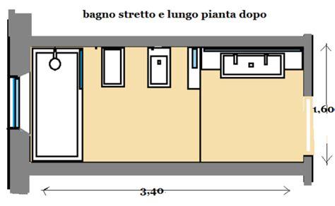 Disposizione Bagno Rettangolare by Bagno Stretto E Lungo Come Progettarlo
