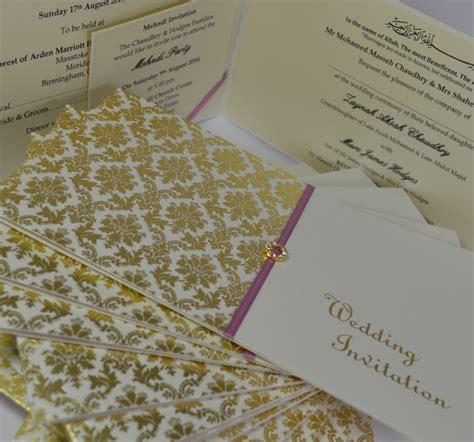 wedding invitation cards birmingham uk muslim wedding cards uk birmingham yaseen for