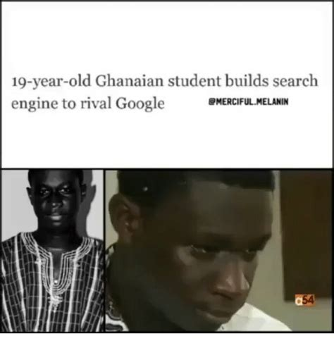 Meme Search Engine - 19 year old ghanaian student builds search engine to rival