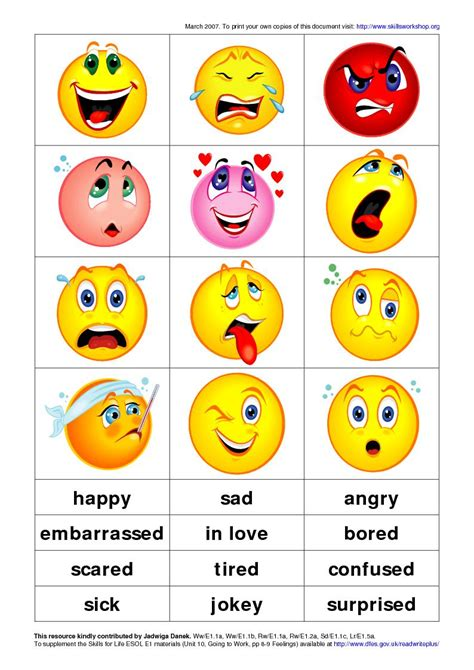 printable emotion faces card free coloring pages of feelings cards