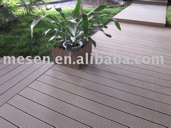 materiale impermeabile per terrazze wpc decking bordo impermeabile per esterni pavimento