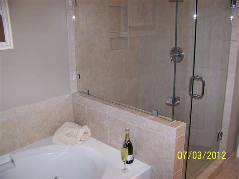 bathroom with separate shower and bathtub an inside look