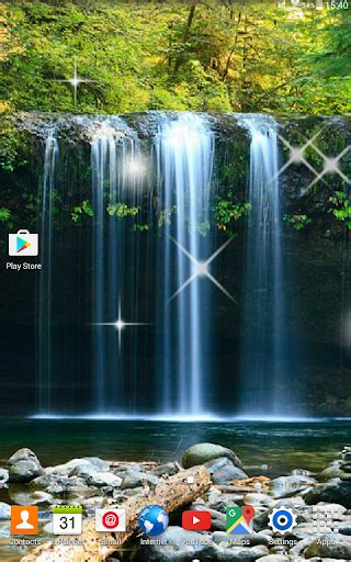 waterfall  wallpapers android apps apk