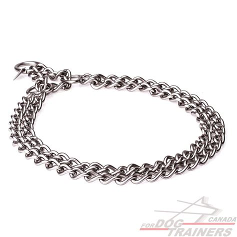 chain collars buy martingale brushed stainless steel collar herm sprenger quality