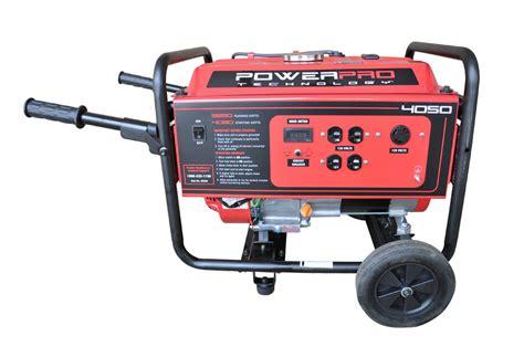 PowerPro 56405 4050 Watt 212cc 7 HP Gas Powered Portable