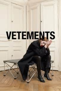 Get to know vetements best emerging designer nominee for the tfs