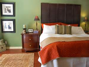 Bedroom Color Schemes Brown And Green Naturally Sophisticated Green Hgtv