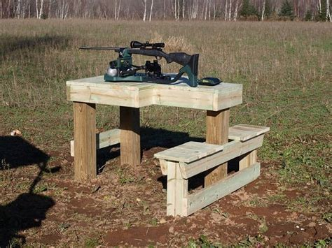 rifle shooting bench i built one of these http renovation headquarters com