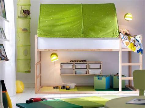 lit mezzanine enfant salle de jeux chambre enfants