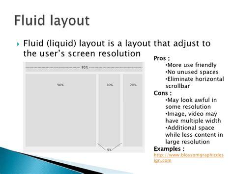 javascript liquid layout css xhtml javascript