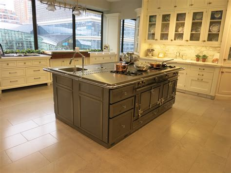 used kitchen island la cornue stainless steel island you can buy it before