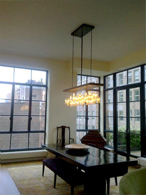 drop chandelier asian dining room  york  shakuff