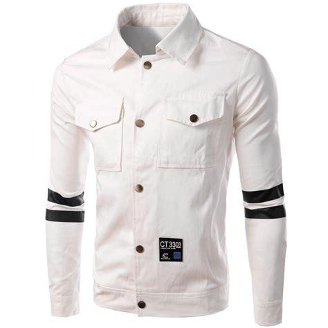 design white jacket white jacket men 2016 new autumn winter fashion design