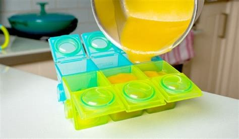 Munchkin Fresh Food Freezer Cup Baby Cubes Wadah Kaldu Puree Mpasi 39 max weaning pots simple clever ideas