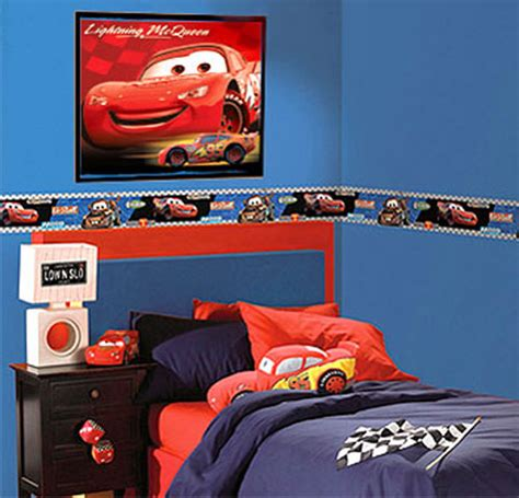 disney cars border lightning mcqueen mater boys room