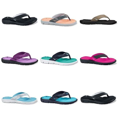 comfortable flip flops for women nike comfort flip flops women sandals brand new ebay
