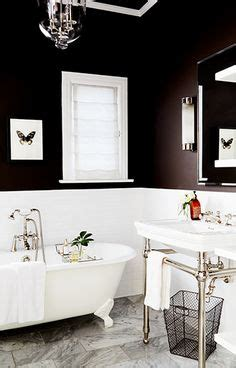 Black White And Brown Bathroom by 1000 Ideas About Black Bathrooms On Bathroom