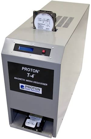 Proton Data Security by Come To Us For Drive Degaussers