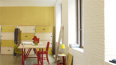 le bureau jaune peinture jaune peinture bureau dulux