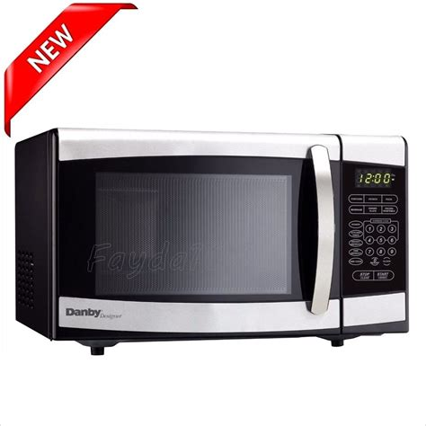 microwave countertop oven compact machine cooking black