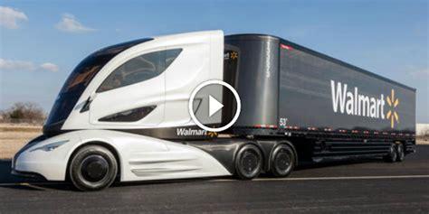 is walmart friendly walmart futuristic truck lightweight environmentally friendly spaceship truck
