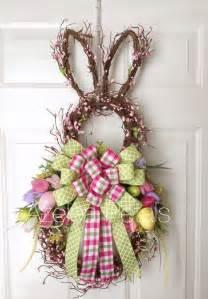 Easter Door Wreaths by Best 25 Easter Wreaths Ideas On Easter