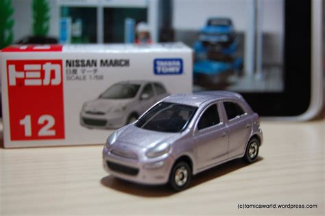 tomica nissan march tomica 012 nissan march tomica