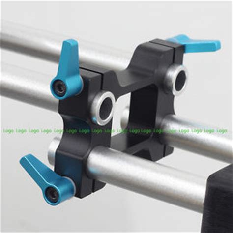 offset riser rail block rod clamp fr 15mm rod dslr rig