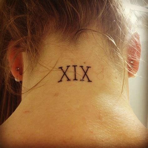 roman numeral tattoos numeral tattoos designs ideas and meaning tattoos