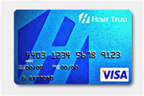home trust company secured visa card