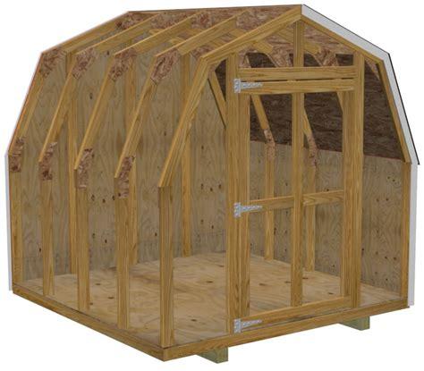 8 215 8 mini barn shed plans