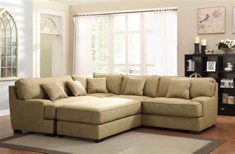 Beige Sectional Sofa Homelegance Minnis Sectional Sofa Set Beige U9759nf Sect Homelegancefurnitureonline