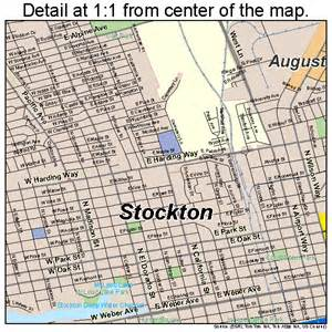 stockton california map 0675000