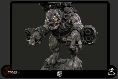 CGTalk   ZBrushCentral Interview: Epic Games   Gears of War 2