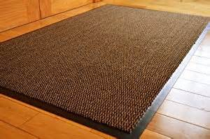 Large Kitchen Rugs Medium Large Narrow Brown Black Heavy Duty Strong Non Slip Heavy Duty