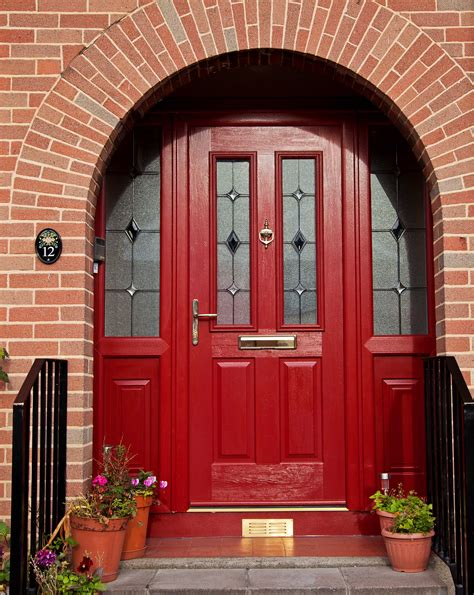 Front Door Fitters 20 Upvc Front Door Front Door With Stained Garage