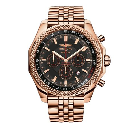 rose gold bentley breitling bentley rose gold breitling barnato world s best