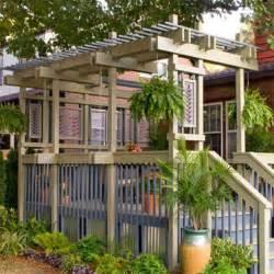Pergola Deck Plans by Hollands Diy Network Dog House Plans