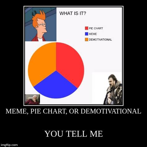 meme pie chart or demotivational imgflip