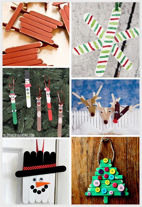 things i love popsicle stick ornaments vicky barone