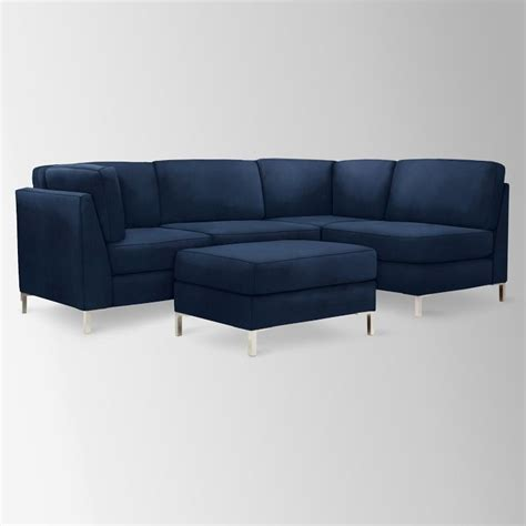 Navy Sectional by Navy Sectional Renovations