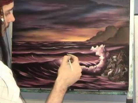 bob ross painting lesson seascape painting lesson